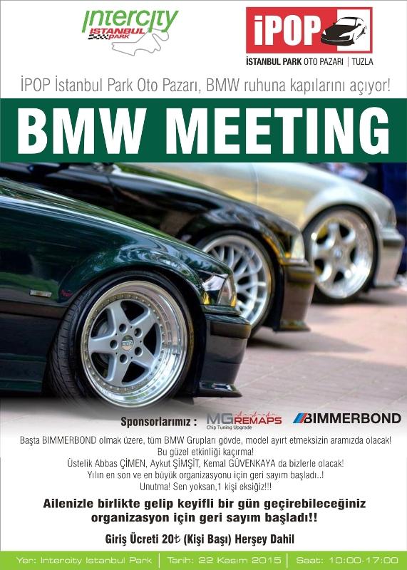 bmw meeting afiş