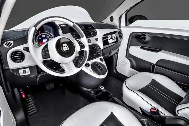 Fiat 500 Star Wars1
