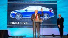 """Yeni Honda Civic Sedan """"Kuzey Amerika Yılın Otomobili"""" seçildi"""