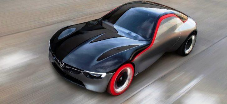 Opel GT Konsept Cenevre Motor Fuarı'nda