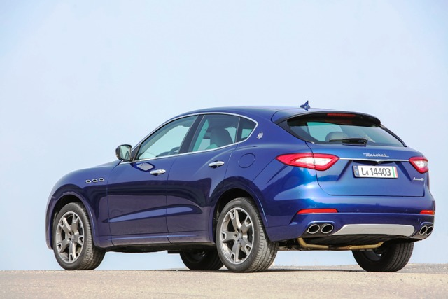 Maserati Lüks SUV3