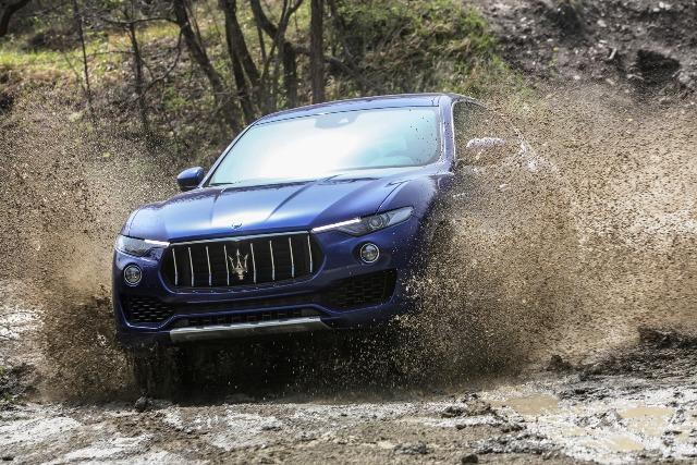 Maserati Lüks SUV4