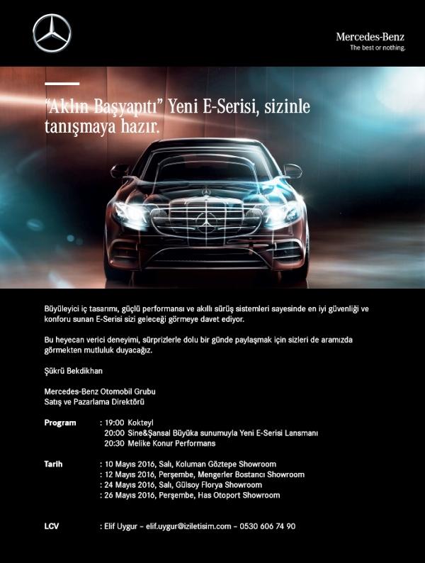 Mercedes-Benz E-Serisi 5