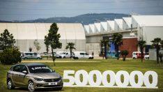 Fiat Egea Hatchback, Tofaş'ın Ürettiği 5 Milyonuncu Araç Olarak Banttan İndi!