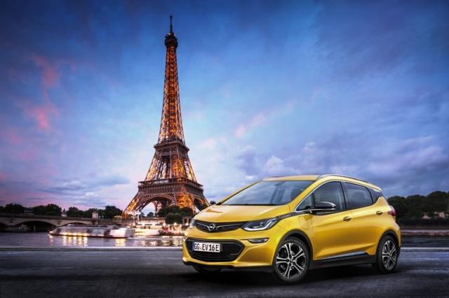 Opel Elektrikli Ampera1
