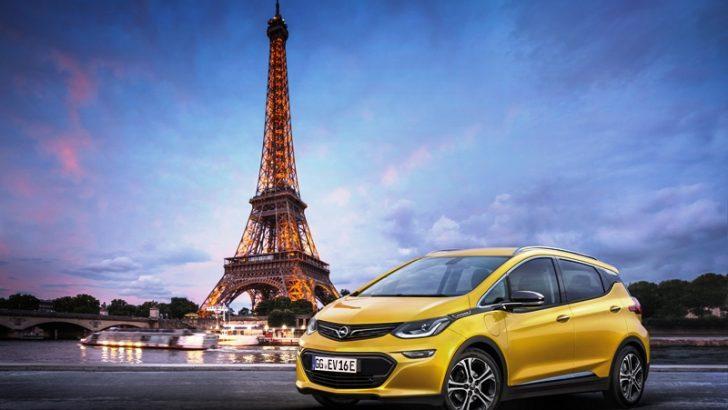 Elektrikli Ampera-e Paris'te Sahneye Çıkıyor