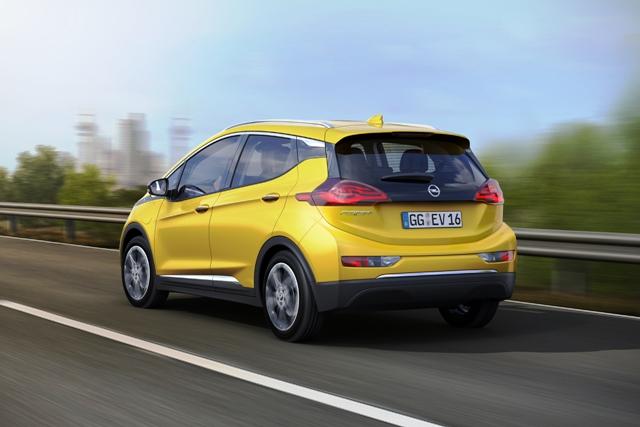 Opel Elektrikli Ampera2