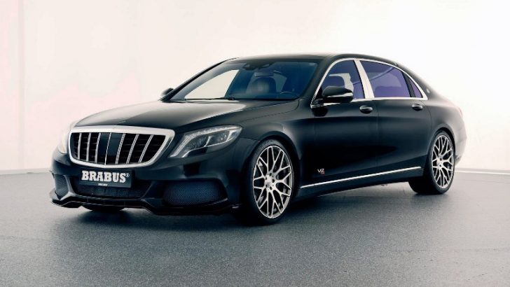 MERCEDES-MAYBACH ROCKET 900'E BRABUS YORUMU