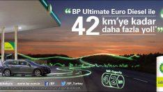BP Ultimate Euro Diesel ile tek depoyla 42 km'ye kadar daha fazla yol