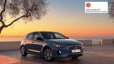 Hyundai Yeni i30'a Red Dot Tasarım Ödülü