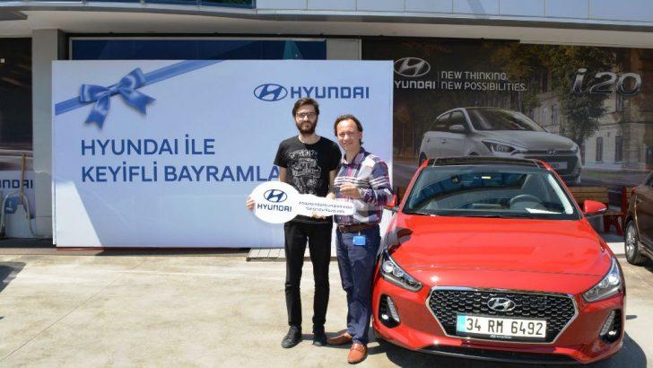 Bayramda Hyundaim Olsa Talihlileri, Araçlarına Kavuştu