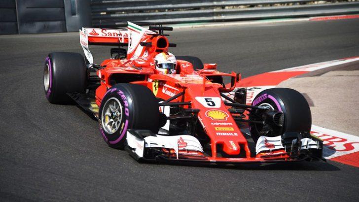 Ferrari Monaco'da Duble Yaptı!