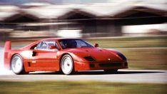 Enzo Ferrari İmzalı Son Model F40 30. Yaşını Kutluyor!