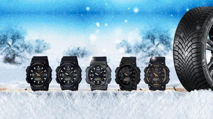 Şimdi Continental'den Kış Lastiği Almanın Tam Saati