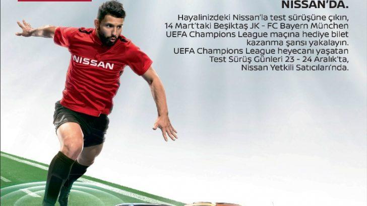 UEFA ŞAMPİYONLAR LİGİ HEYECANI NISSAN'DA