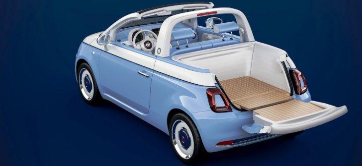 FIAT 500'E ÖZEL SERİ: 'SPIAGGINA 58'