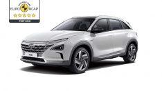 Hyundai NEXO, Euro NCAP'ten 5 Yıldızı Kaptı