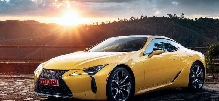 Lexus'tan göz kamaştıran otomobil