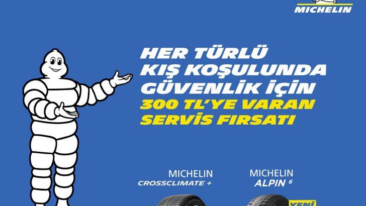 Michelin'den lastik bakım kampanyası