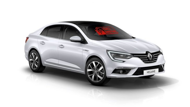 """Megane Sedan ve Clio HB'ye """"Yerli Üretim"""" logosu"""