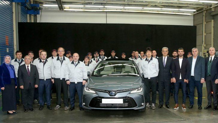 Corolla hibrit Sakarya'dan yola çıkacak
