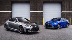 İki yeni Lexus RC F'i tanıttı