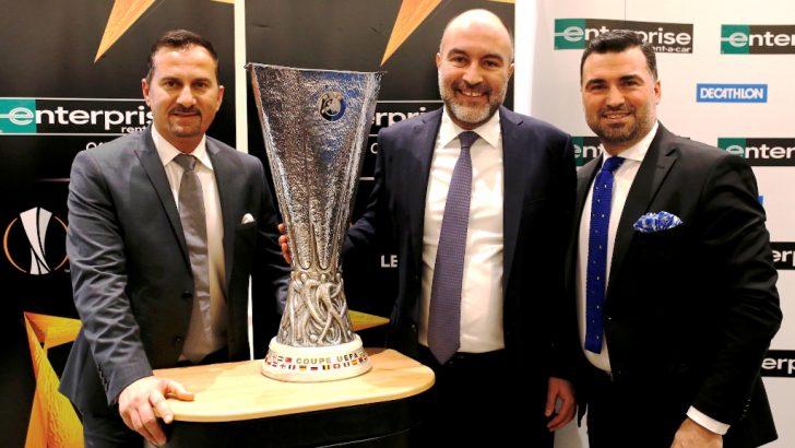 UEFA Kupası Enterprise ile Türkiye'ye geldi