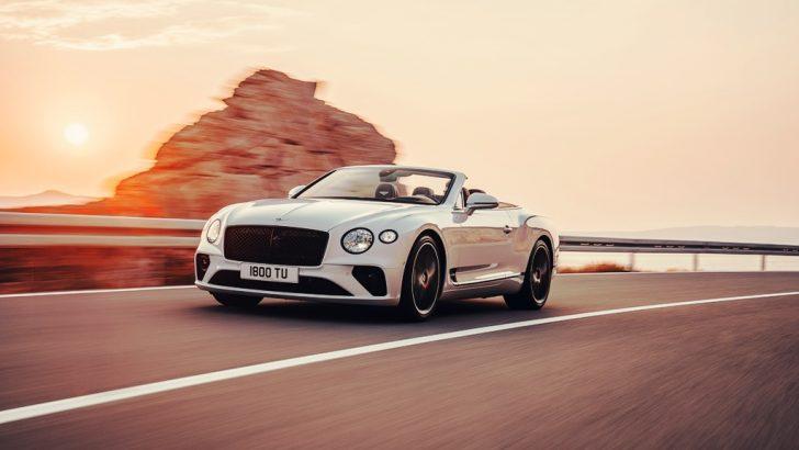 Üstsüz Bentley Continental Gt Convertible