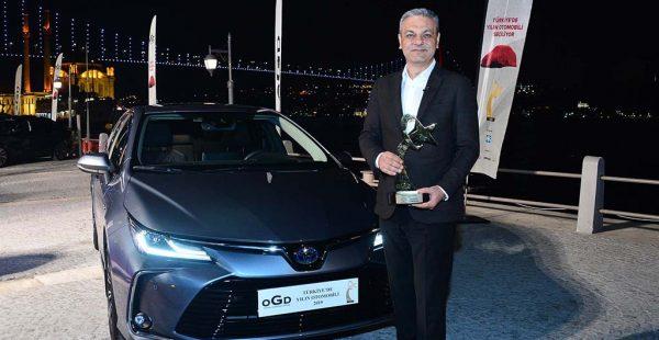 Türkiye'de yılın otomobili Toyota Corolla oldu