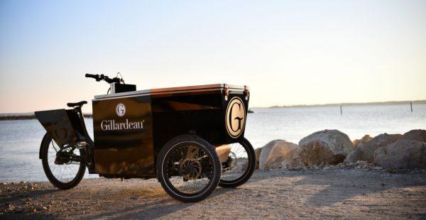 Peugeot Design Lab, Gillardeau için bir bistro bisikleti tasarladı