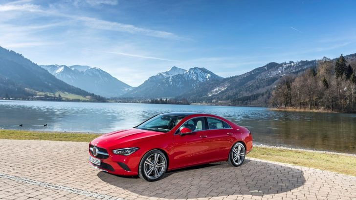 Teknolojik Coupé Yeni Mercedes CLA