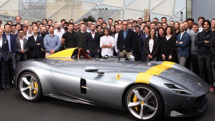 Ferrari, Red Dot Tasarım Ödülleri'nde Rekor kırdı!