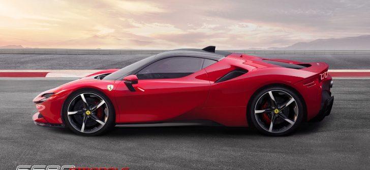 Ferrari'den Hibrit Hiper Otomobil!