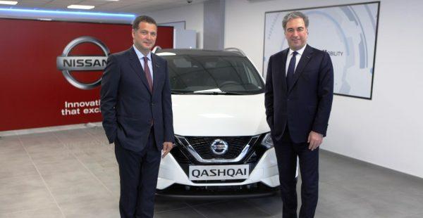 NISSAN Türkiye'de Genel Müdür değişimi