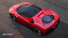 1000 beygirlik hibrit Ferrari