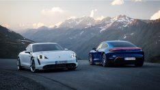 Karşınızda Porsche'nin ilk tamamen elektrikli spor otomobili: Taycan
