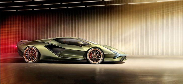 """Lamborghini'nin hibrit """"yıldırımı"""" Sian  Frankfurt semalarında!"""