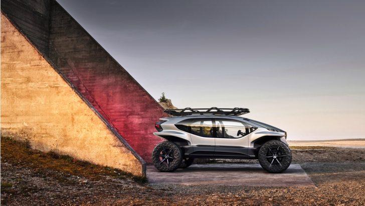 Audi'den Frankfurt'ta elektrikli ve otonom  off-road aracı AI: TRAIL
