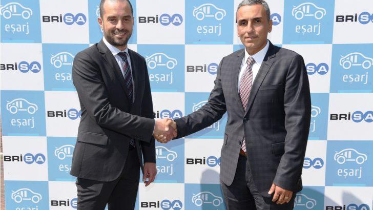Brisa ve E-Şarj, Elektrikli Araçların Şarj İstasyonu İhtiyacına Çözüm Sunuyor
