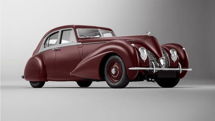 1939 Model Bentley Corniche Küllerinden Doğdu