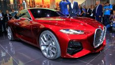 BMW Concept 4 Frankfurt'ta Ortaya Çıktı