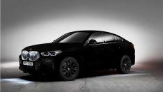 Dünyanın en siyah otomobili Yeni BMW X6 Vantablack Fuara Damgasını Vurdu!