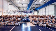 100 Bininci Maserati Ghibli Banttan İndi