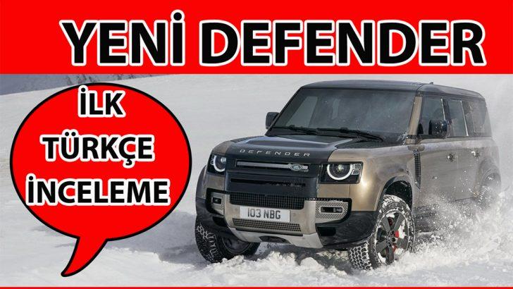 Yeni Land Rover Defender videolu inceleme