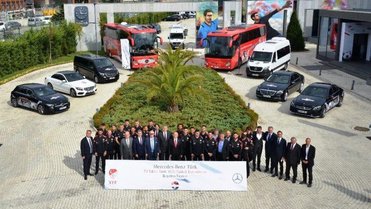 Milli Takım 2023'e Kadar Mercedes-Benz ile Birlikte