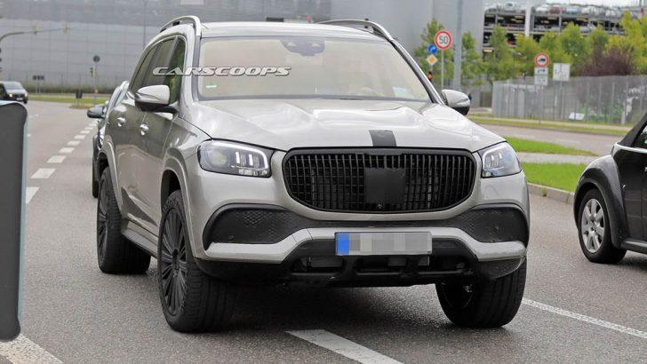 Mercedes-Maybach GLS Kameralara Yakalandı