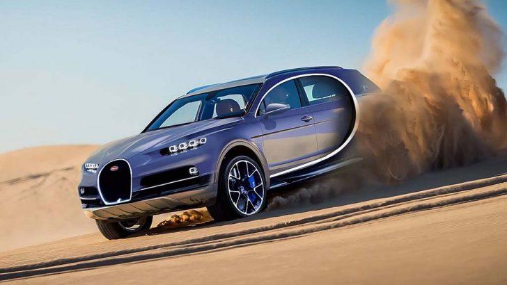 Yeni Bugatti modeli elektrikli bir Grand Tourer veya Crossover olabilir