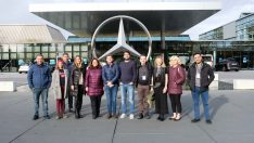 Mercedes-Benz Türk StartUP 2019 kazananları Almanya'daki eğitime katıldılar