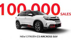 YENİ CITROËN C5 AIRCROSS SUV,100.000 ADET SATIŞA ULAŞTI!