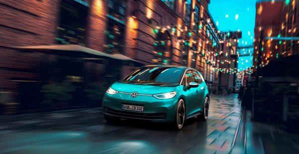 Volkswagen'in Elektrikli Otomobili ID.3 ışıkla iletişim kuruyor